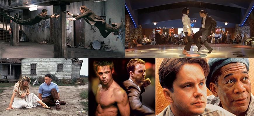 Фильмы 90-х с самым высоким рейтингом на сайте IMDb