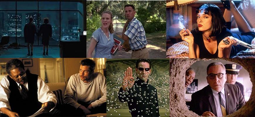 Самые просматриваемые фильмы 90-х