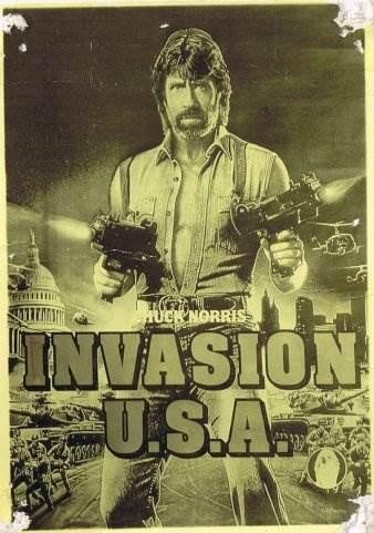 Постер к фильму «Вторжение в США»